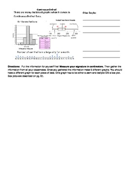 Introduction to Graphs Lecture and Activity