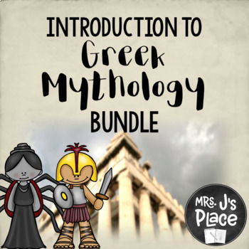 Introduction to Greek Mythology Bundle