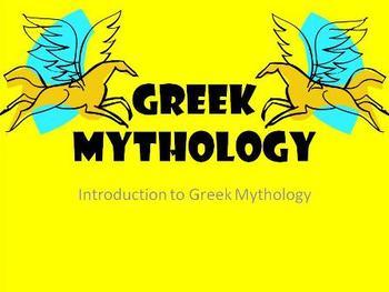 Greek Mythology (Introduction to Greek Mythology PowerPoint Presentation)