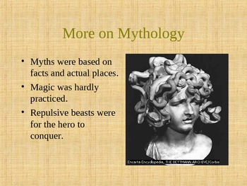 Introduction to Greek Mythology PowerPoint Slideshow