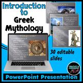 Introduction to Greek Mythology PowerPoint
