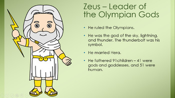 Introduction to Greek Mythology and The Flight of Icarus 7th Gr. HMH Collections