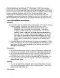 Introduction to Greek Mythology for ELLs