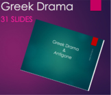 Introduction to Greek Tragedy: Antigone with Questions in Preview PPT