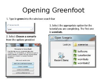 Introduction to Greenfoot