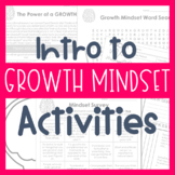 Introduction to Growth Mindset Activities {Middle and High