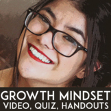 Growth Mindset Activity: Growth Mindset Introduction   TED Talk, Question, Quiz