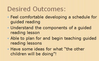 Introduction to Guided Reading: A Powerpoint to Get Started