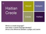 Introduction to Haitian Creole (Kreyol) Language (powerpoint)