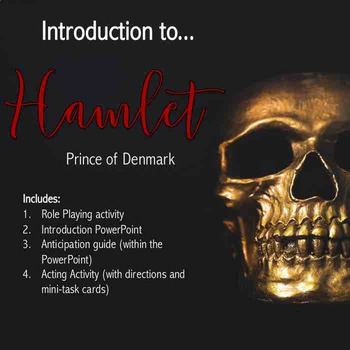 Introduction to Hamlet Activity Pack--Hands-on Learning and Role-Playing