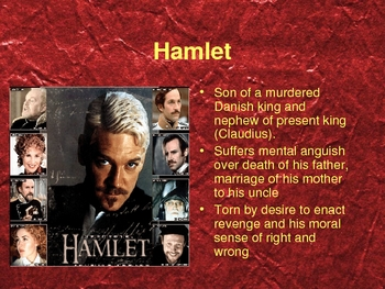 Introduction to Hamlet with Anticipatory Guide Questions