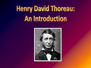 Introduction to Henry David Thoreau