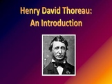 Introduction to Henry David Thoreau