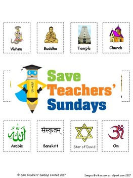 Introduction to Hinduism Lesson plan, PowerPoint and Worksheets