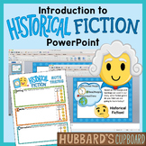Introduction to Historical Fiction Genre PPT Using Setting, Events, & Characters