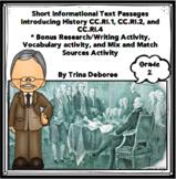Introduction to History: Social Studies Nonfiction Comprehension Passages