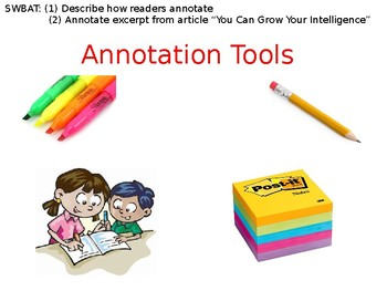 Introduction to How to Annotate a Text