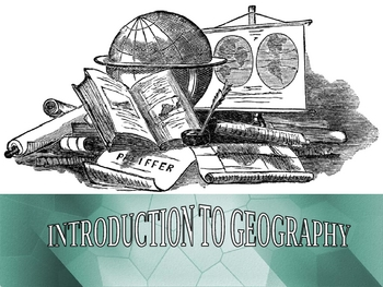 Introduction to Human Geography Power Point