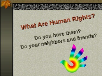 Introduction to Human Rights PowerPoint