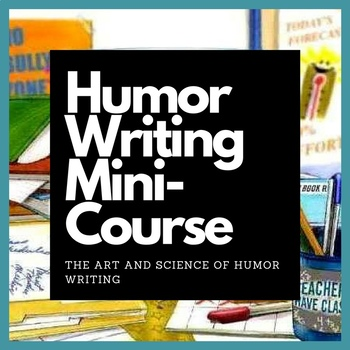 Introduction to Humor and Comedy Writing