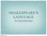 Introduction to Shakespeare's Language: A Midsummer Night's Dream