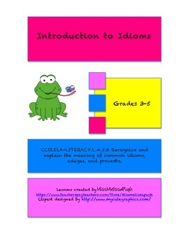 Introduction to Idioms