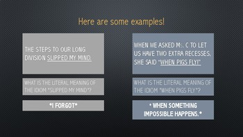 Introduction to Idioms PPT