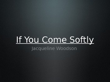 Introduction to If You Come Softly by Jacqueline Woodson