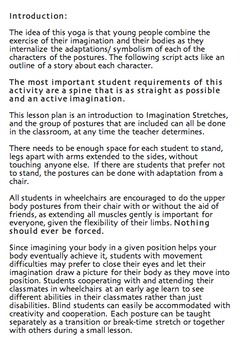 Introduction to Imagination Stretches