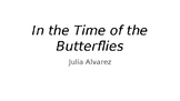 Introduction to In the Time of the Butterflies