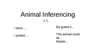 Introduction to Inferencing   (3-5)