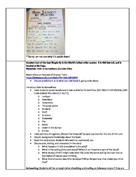 Introduction to Inferencing Lesson Plans