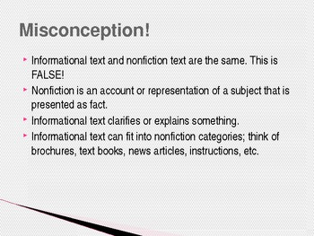 Introduction to Informational Text & Deductive & Inductive Reasoning