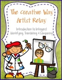 Introduction to Integers! Creative Way Artist Relay - A fu