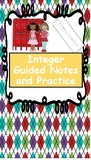 Introduction to Integers (Notes, Practice, Activities)