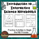 Introduction to Interactive Science Notebooks - Freebie