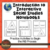 Introduction to Interactive Social Studies Notebooks - Freebie