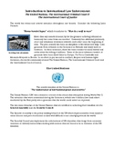 Introduction to International Law Enforcement
