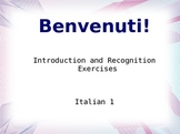 Introduction to Italian: Alphabet and Beginning Pronunciation
