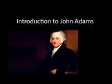 Introduction to John Adams
