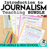 Journalism Teaching Bundle: Lessons, PowerPoints, Assignments