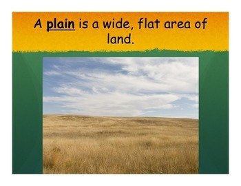 Introduction to Landforms Powerpoint