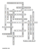 Introduction to Life Science Crossword for Middle School Science