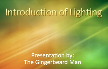 Introduction to Lighting