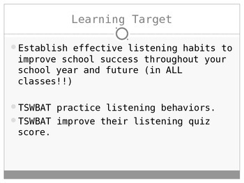 what are the strategies for effective listening