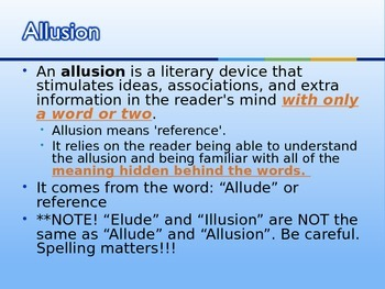 Introduction to Literary Allusions- Prufrock