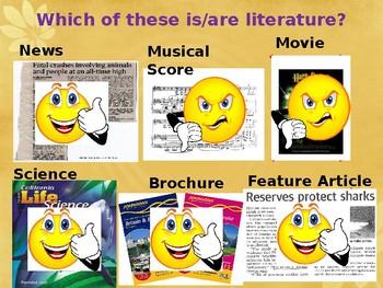 Literature Basics - Introduction to Literature