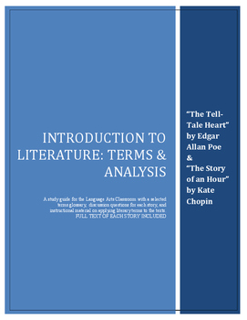 """Introduction to Literature: """"The Tell-Tale Heart"""" and """"The Story of an Hour"""""""