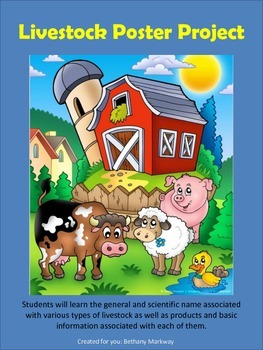 Introduction to Livestock Activity Guide