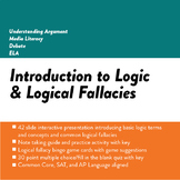 Introduction to Logic and Logical Fallacies